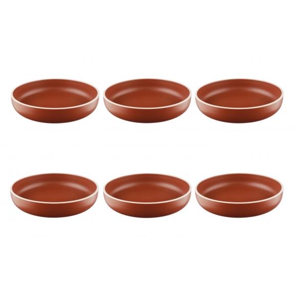 """""""Origin"""" 6 lėkštės sriubai (Terracota)"""