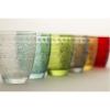 """""""Mexico"""" 6 spalvotos stiklinės"""