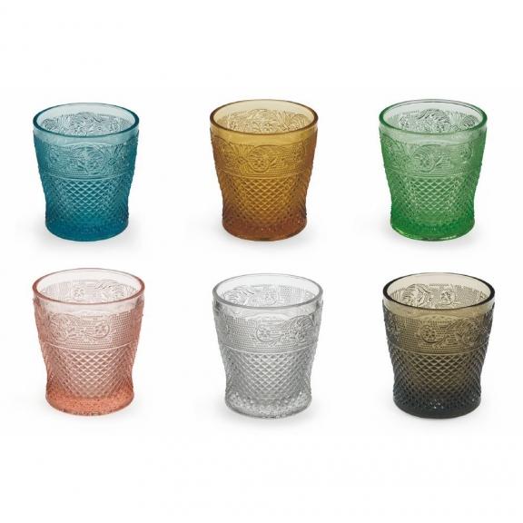 """""""Prisma"""" 6 spalvotos stiklinės"""