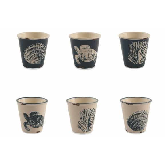 """Marine"" 6 espresso puodeliai"