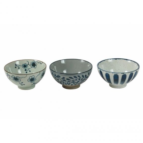 "Trys ""Oriental Tradition"" porceliano dubenėliai"